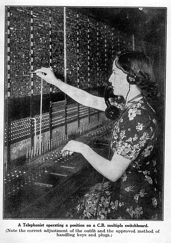 June-Wright-at-the-switchboard